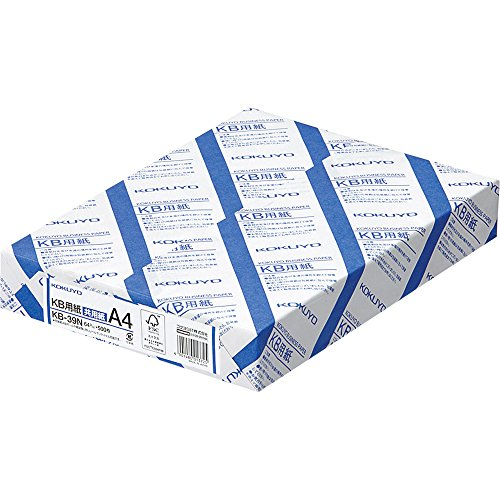 Kokuyo KB paper both FSC-certified paper 64g A4 500 sheets KB-39N