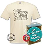 Elmer Fudd T-Shirt and Keyring Giftset. My Wittle Fwend