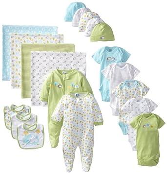 Amazon.com: Gerber Unisex-Baby Newborn Neutral 19 Piece