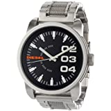 Diesel Watch DZ1370 with Stainless Steel Bracelet Strap and Black Dial