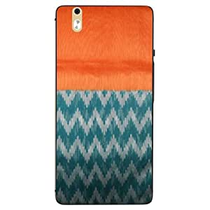 Snazzy Printed Multicolor Hard Back Cover For InFocus M810