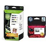 Set of 5 HP 364 Ink Cartridges