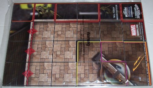 Heroclix Marvel Amazing Spider-man: Bell Tower Indoor/Outdoor LE Map - 1
