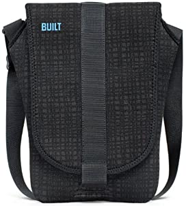 BUILT 11-Inch Apple MacBook Air Neoprene Messenger Bag, Graphite Grid