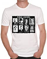 Public Enemies Al Capone Scarface T-shirt Homme ONE IN THE CITY