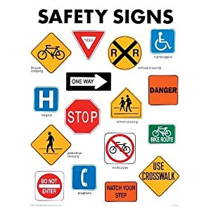 safety signs cheap chart