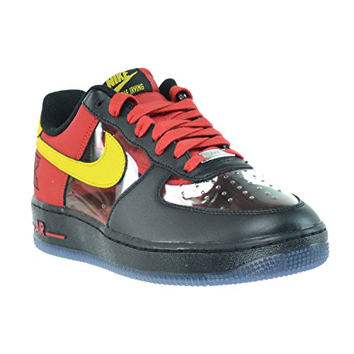 info for a3ef0 c6c12 Nike Air Force 1 Comfort Signature Kyrie Irving QS Men's Shoes Black/Tour  Yellow-University Red 687843-001 (10.5 D(M) US) | $62.98 - Buy today!