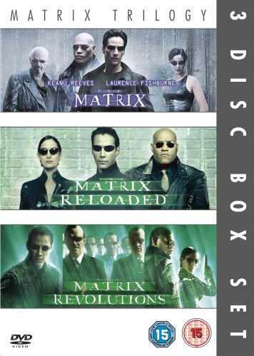 Matrix Trilogy 3-Disc Set: The Matrix, Matrix Reloaded and Matrix Revolutions [DVD]