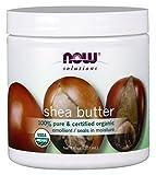 Now Foods 100% Pure Organic Shea Butter, 7 Ounce