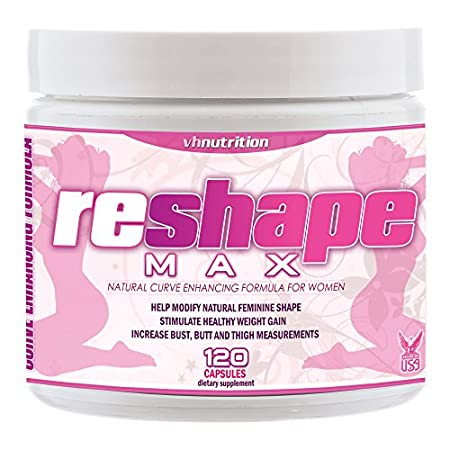 ReshapeMAX is a 100% natural daily female shape enhancing formula. The ingredients in the ReshapeMAX proprietary formula work with your body to add size to the areas of the body where women tend to gain weight first - the thighs, butt and breasts! It...