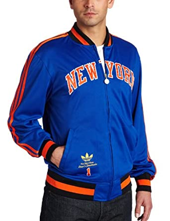 NBA New York Knicks Amare Stoudemire Originals Legendary Current Player Jacket by adidas