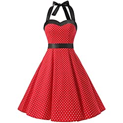 Dresstells Halter 50s Rockabilly