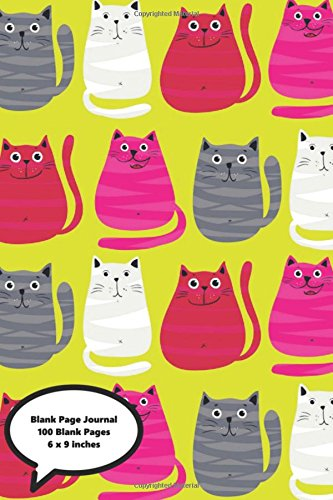 blank-page-journal-yellow-cat-journal-100-blank-page-journal-notebook-diary-50-sheets-6-x-9-in