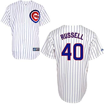 Buy James Russell Chicago Cubs Home Replica Jersey by Majestic by Majestic