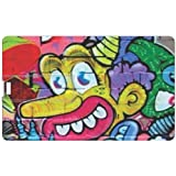 Design Worlds Design Credit Card 16 GB Pen Drive Multicolor - B01GL1CU54