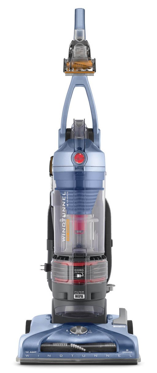 Hoover WindTunnel T-Series Pet Rewind Plus Upright Vacuum, Bagless, UH70210