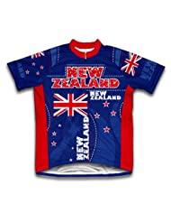 New Zealand Short Sleeve Cycling Jersey for Women