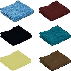 20 Assorted Colour 100% Cotton face cloths Flannels 30cm x 30cm