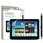 Samsung Galaxy Tab 2 10.1 Screen Protector Sentey® Clear HD High Definition Tablet LS-14221 Bundle with Free Metal Stylus Touch Screen Pen {Lifetime Warranty}