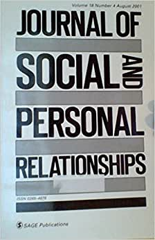 journal of social and personal relationships pdf