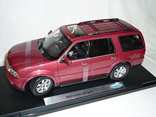 lincoln-navigator-suv-rot-2005-1-18-welly-modellauto-modell-auto
