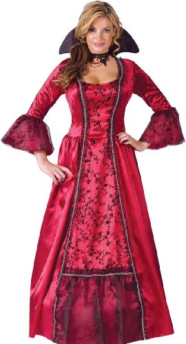 Fun World Sexy Womens Medieval Vampire Dress Halloween Costume