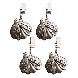Kitchen Craft Set of 4 Solid Pewter Table Cloth Weights