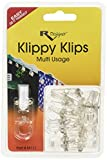 RV Designer Clear Collection M111 Klippy Klips (Pkg 10)