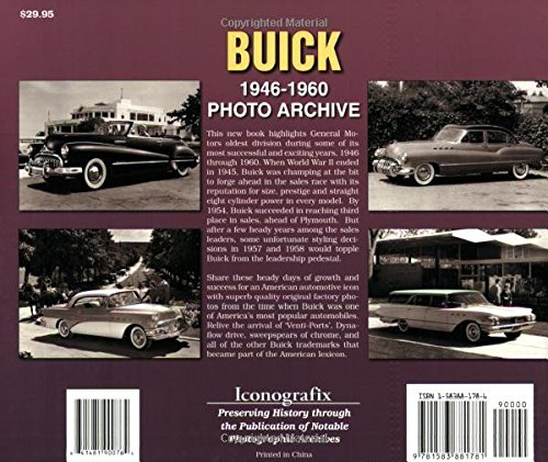Buick: 1946-1960 (Photo Archives)