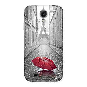 Special Tower Red Umbrella Multicolor Back Case Cover for Samsung Galaxy S4