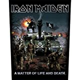 Iron Maiden - Backpatch A matter of life and death (in 23,5 cm x 20 cm)