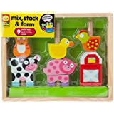 ALEX Toys Little Hands Mix, Stack & Farm
