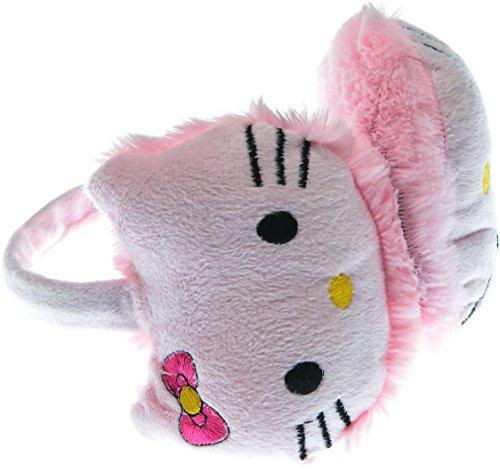 [Hand By Hand Aprileo Girl Hello Kitty Earmuff Ear Warmer Animal Faux Fur [Pink.](One Size)] (Hello Kitty Ears)