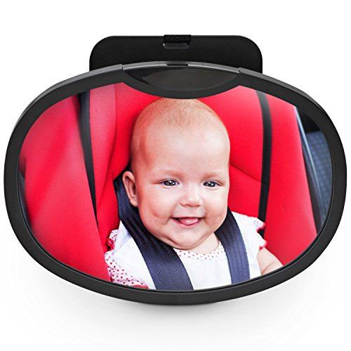Sandi Blu's Trureflect Baby Car Mirror for Rear Facing Baby