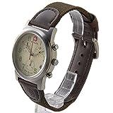 (ウェンガー) WENGER メンズ時計 WEN72951フィールドクロノ IVカワ アイボリー × ブラウン [並行輸入品]