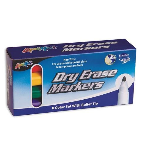 S&S Worldwide Liqui-Mark® Dry Erase Markers (Set of 8)