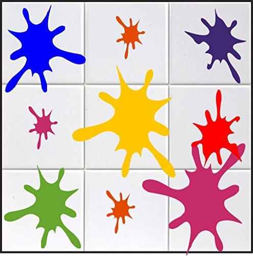 10-x-farbklecks-aufkleber-in-s-ca-10-cm-aus-hochleistungsfolie-fur-fliesen-autos-wande-und-alle-glat