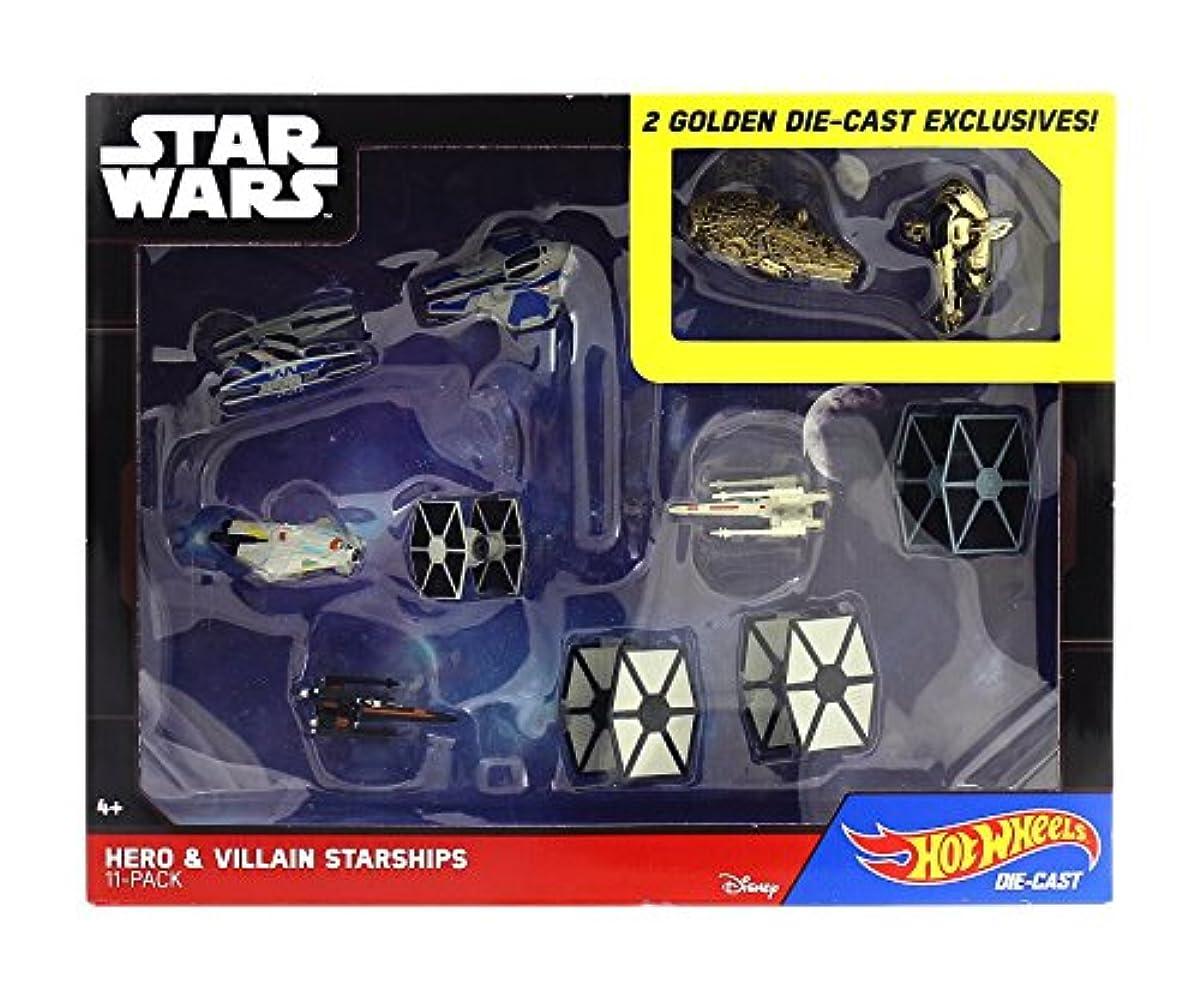 스타워즈 핫 휠 타겟 한정 다이캐스트 vehicle 11팩 히어로 VS 빌런 스타 Ships / STAR WARS HOT WHEELS DIECAST VEHICLE HERO VS VILLAIN STARSHIPS