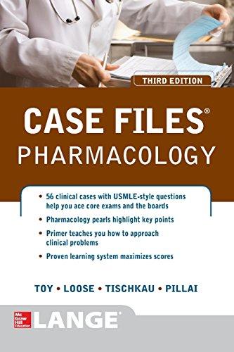 Case Files Pharmacology, Third Edition (LANGE Case Files) PDF