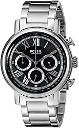 Fossil Buchanan Chronograph Stainless Steel Watch