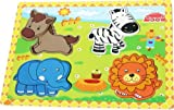Toys of Wood Oxford Wooden Animal Jigsaw Puzzles for Children