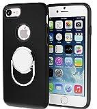 (ジョイント)joint iPhone7 plus ケース スタンドリング付き 360°専用 耐衝撃 アイフォンケース ring (iPhone7, ブラック) joint G&S