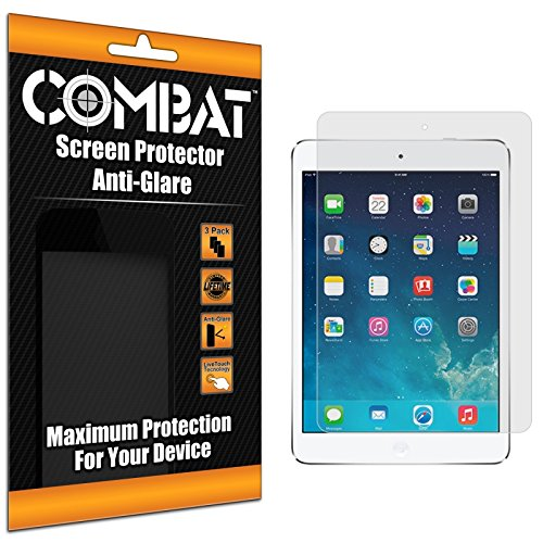 Cell Accessories For Less (Tm) Combat 3 Pack Anti-Glare Matte Screen Protector For Apple Ipad Air // Free Shipping By Thetargetbuys front-816680