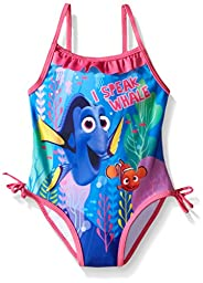Disney Baby-Girls Dory Swimsuit, Blue, 18 Months