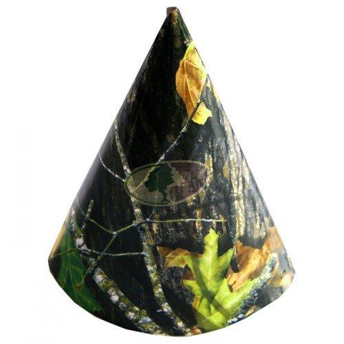 Mossy Oak Breakup Party Hats - 8 Pack