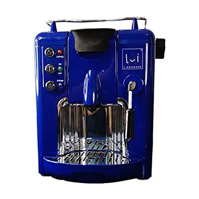 Wonderchef Lui L'Espresso 2-Litres Coffee Machine with Coffee Capsules (Blue)