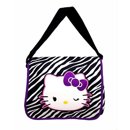 Hello-Kitty-Zebra-Pattern-Messenger-Bag-TRU