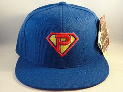 MLB Pittsburgh Pirates Superman Fitted Hat Cap Size 7 1/4