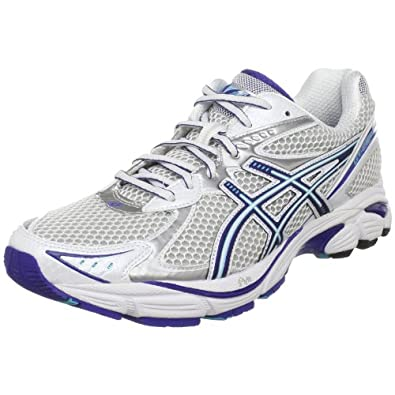 ASICS Women's GT 2160 Running Shoe,White/Electric Blue Lightning,6 2A