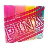 Victoria's Secret PINK Body Mist 4-Piece Mini Gift Set 2.5 fl oz; Warm & Cozy, Fresh & Clean, Total Flirt, Cool & Breezy (Color: Multi-Colored, Tamaño: Travel)